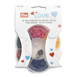 Color Snaps Assortiment mini - Prym Love
