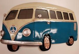 Muurdecoratie VW T1 Blauw