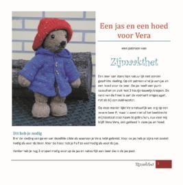 Een Jas en een Hoed voor Vera Patroonboekje ZijMaaktHet