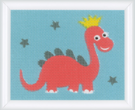 Dinosaur Canvas Vervaco