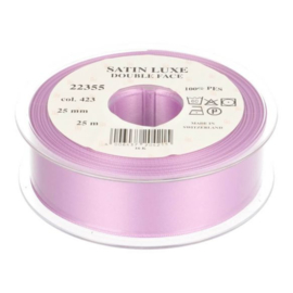 423 25mm Lint Satin Luxe Double face p.m.
