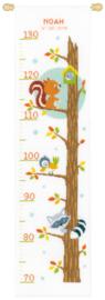 Animals in Tree Aida Measuring Rod Vervaco