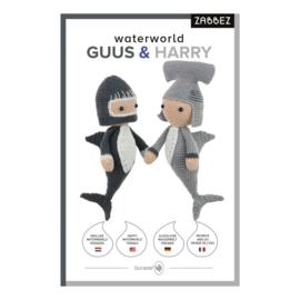 Waterworld Guus & Harry Zabbez Haakpakket Vrolijke Waterwereld Vrienden