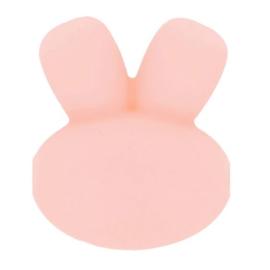 15mm Roze konijnen siliconen kralen