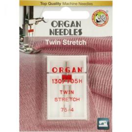 75 / 4 Stretch Tweeling Naald Organ