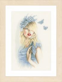 Blue butterflies Eavenwave Lanarte