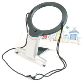 2in 1 LED hands-free magnifier - PureLite