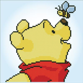 Winnie de Pooh met Bij Disney Diamond Painting