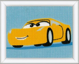 Cruz Disney Cars Canvas Kit Vervaco