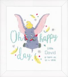 Dumbo Oh Happy Day Aida Vervaco Telpakket