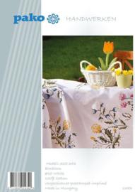 Veldbloemen voorbedrukt Tafelkleed Pako