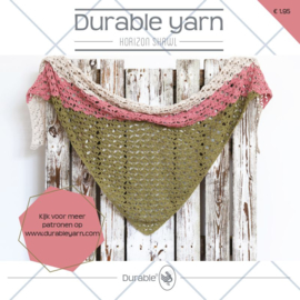 Horizon Shawl Durable Yarn