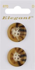 870 Elegant knopen