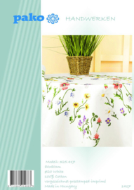 Bloemen Voorbedrukt Tafelkleed Pako
