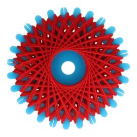 Red Button Thread