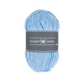 282 Light blue Velvet - Durable