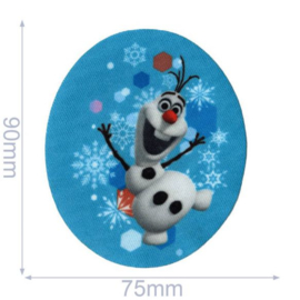 Olaf Frozen Opstrijkbare Applicatie