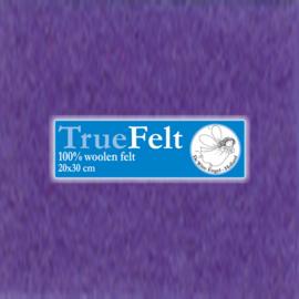 Blauw Paars 20 x 30cm TrueFelt
