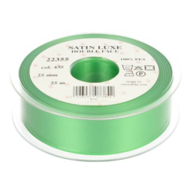 435 25mm Lint Satin Luxe Double face p.m.