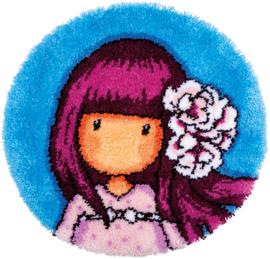 Santoro Cherry Blossom Knoopvormtapijt Vervaco
