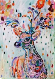 Noble Deer Abris Art Kralen Borduurpakket