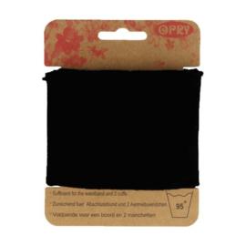 Zwarte Uni Boordstof Opry