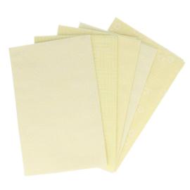Industrious Ivory Fat Quarter Bundle Tissu de marie