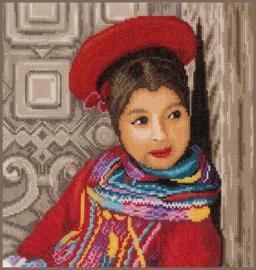 Peruaans Meisje Eavenwave telpakket - Lanarte