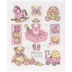 Anchor ACS38 Girl Birth 24x20 cm