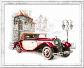 Retro Cadillac Aida Chudo-Igla Telpakket