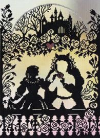 Fairy Tales Beauty and the Beast Aida Telpakket Bothy Threads