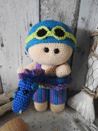 Funny Sunny Boy Crochet Kit