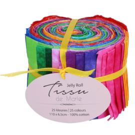 Jelly rol 110 x 6,5cm Tissu de marie