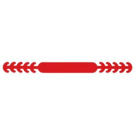 Siliconen oorbeschermers voor mondkapjes Rood