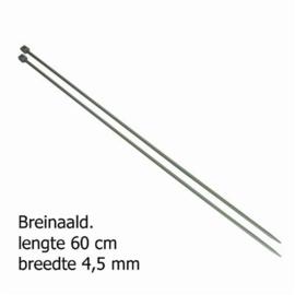 4,5mm 60cm Breinaald pony