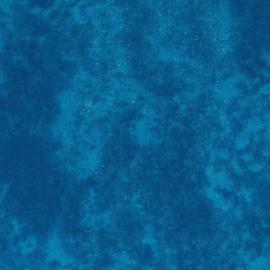 Blauw Gewolkt Tissu de Marie Stof 110cm breed