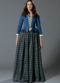 M7735 Outlander Claire Fraser Cosplay McCall's