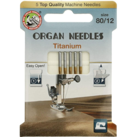 Titanium 80/12 Organ Needles