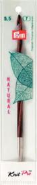 5.5mm Natural Verwisselbare Tunische Haaknaalden Prym KnitPro