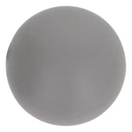 002 grijs Siliconen kralen 12mm