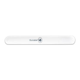 Witte Durable Klaparmband 21 x 2,5cm