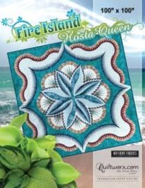 Fire Island Hosta Queen patroon - Quiltworx