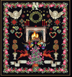 Kerst merklap 2077 Aida Telpakket Thea Gouverneur