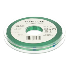18 6mm Lint Satin Luxe Double face p.m.