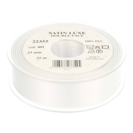 401 25mm Lint Satin Luxe Double face p.m.