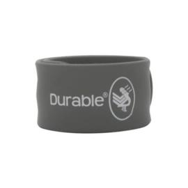 Grijze Durable Klaparmband 21 x 2,5cm