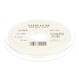 405 6mm Lint Satin Luxe Double face p.m.