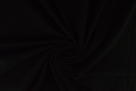 Zwart Uni Katoen 140 breed