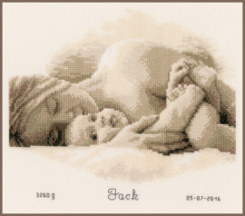 De eerste knuffel Aida telpakket - Vervaco