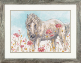 Wild Horse Aida Borduurpakket Dimensions
